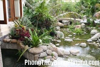 san vuon 1 1342089593 Nguyên tắc bố trí đá trong sân vườn