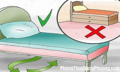 15khong de gi duoi gam giuong tru 1 thu de hut loc cho gia chu Nên đặt vật này dưới gầm giường để được may mắn và tài lộc