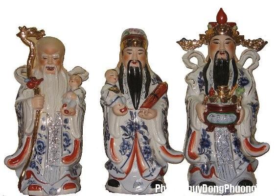 phucloctho5 1370426021 Cách bài trí tượng Phúc, Lộc, Thọ đem lại may mắn trong kinh doanh