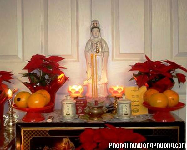 tuongphatbaquanam a5b2 Cách đặt tượng Phật để gia đình luôn được bình an