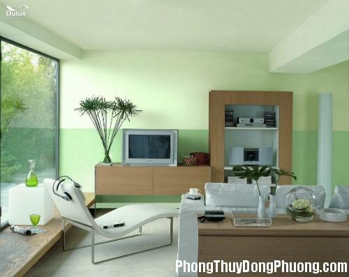 chon mau son nha phu hop 2 Chọn màu sơn nhà tương ứng theo mệnh cung của gia chủ