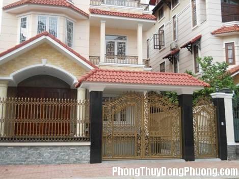 085543baoxaydung image001 1412954697 Hướng mở cổng phù hợp với mệnh và tuổi gia chủ
