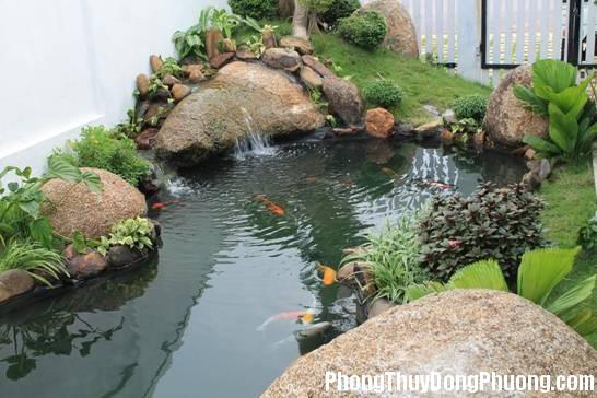 111443baoxaydung image001 1428079398 Phong thủy hút vận may cho hồ nước trong sân vườn