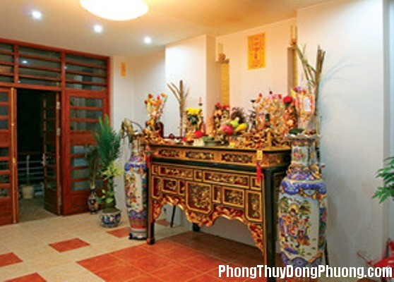 231415baoxaydung image001 Những lưu ý phong thủy khi bố trí bàn thờ