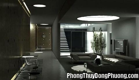 phong thuy 140 qflm 1385366108 Hạn chế trang trí trần nhà màu đen