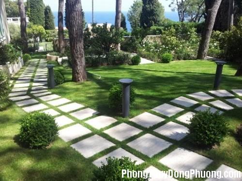 111059baoxaydung 3 Cách lát đá sân vườn đem lại nhiều may mắn
