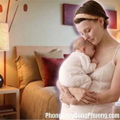 1 6 Phong thủy phòng ngủ giúp con cái đầy đàn