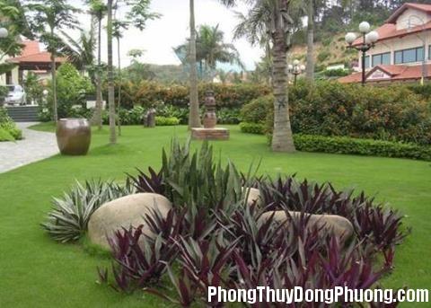 cach bai tri san vuon theo huong nha 19013487 Phong thủy sân vườn đem lại bình an cho gia chủ