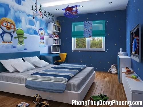 phong thuy phong be 1480095796 Phòng ngủ tốt cho bé theo phong thủy
