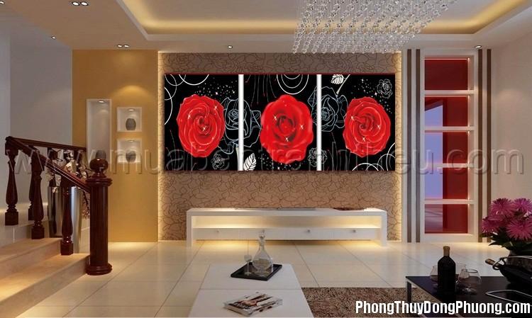 theuchuthaphoahong3buc 1381401526 Những bức tranh phong thủy đem lại vận khí cực tốt cho nhà ở