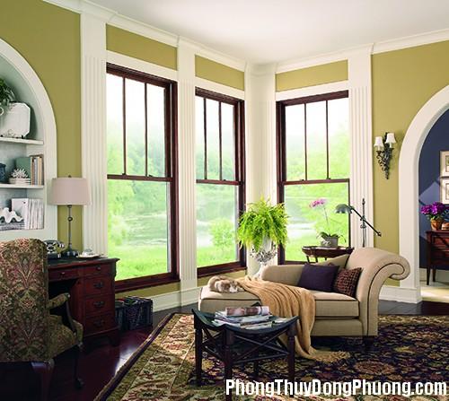three windows in living room 1366986342 Phong thủy cửa sổ đem lại vận may