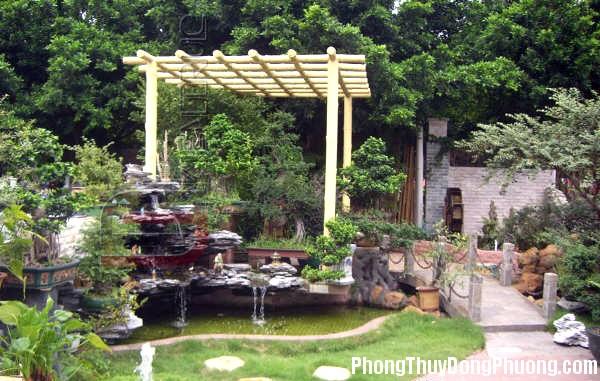 0A27 09 20 Cách bố trí sân vườn hợp phong thủy thu hút vượng khí