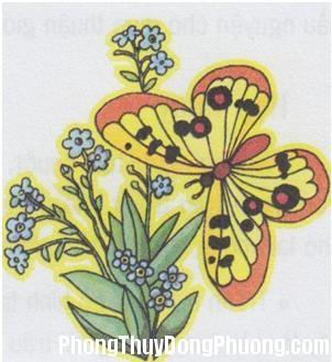 20150919104327 90b2 Nguyên tắc treo tranh bướm hợp phong thủy cho nhà ở