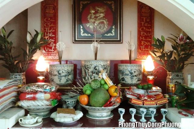 o nha chung cu ban tho nhu the nao la chuan phong thuy 11 101346 Cách bài trí bàn thờ chuẩn cho căn hộ chung cư