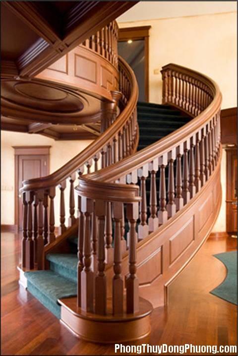 130802 thiet ke cau thang go hop phong thuy 2 Thiết kế cầu thang gỗ đúng cách mang lại nhiều may mắn và thinh vượng