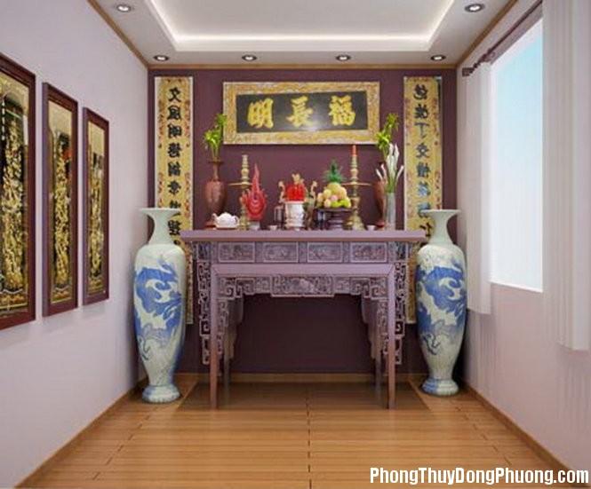 cho huong ban tho 1464249680 Cách xác định hướng đặt bàn thờ cho căn hộ chung cư