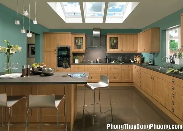 mau son phong thuy p 20160123092633739 Bí quyết chọn màu sơn hợp phong thủy cho căn bếp