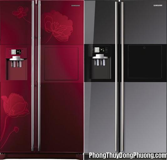 tu lanh sam sung mau do Nhà ngày càng giàu có nhờ biết cách đặt tủ lạnh