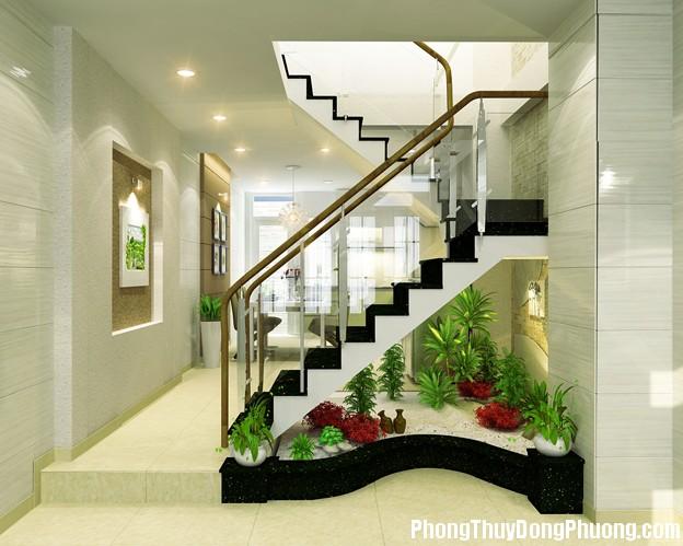 48 e1e3 Những vị trí trong nhà bị cấm kỵ bố trí cầu thang