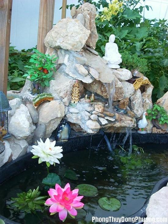 bo tri dong nuoc trong vuon giup tien tai may man chay vao nha 2 Cách bố trí dòng nước trong vườn giúp tiền tài, may mắn chảy vào nhà