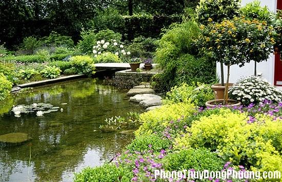 bo tri dong nuoc trong vuon giup tien tai may man chay vao nha 4 Cách bố trí dòng nước trong vườn giúp tiền tài, may mắn chảy vào nhà