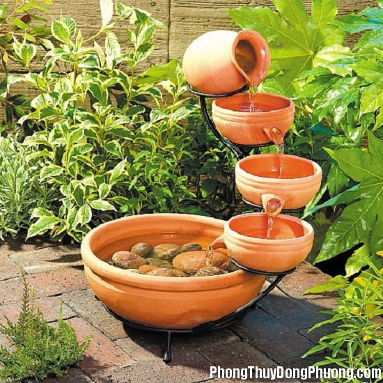 bo tri dong nuoc trong vuon giup tien tai may man chay vao nha 5 Cách bố trí dòng nước trong vườn giúp tiền tài, may mắn chảy vào nhà