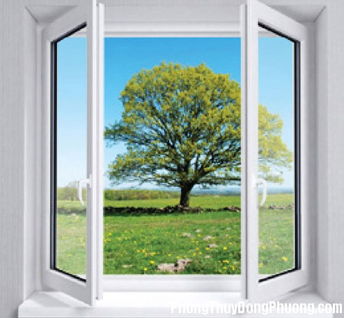 cua so 4 Phong thủy nhà ở: Mở cửa sổ thấy gì sẽ báo điềm lành?