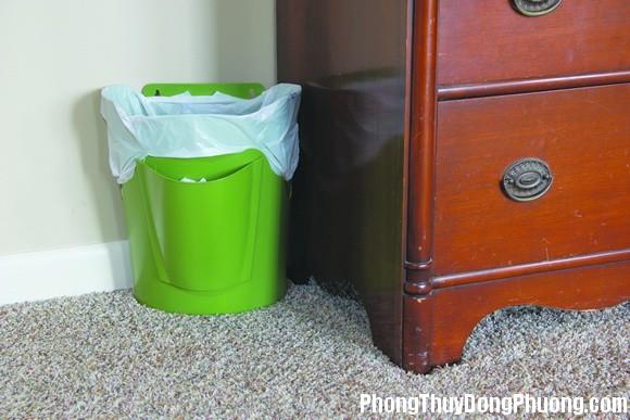 vi tri dat thung rac giup tranh van xau trong nha 1 Vị trí đặt thùng rác giúp tránh các vận xấu trong nhà