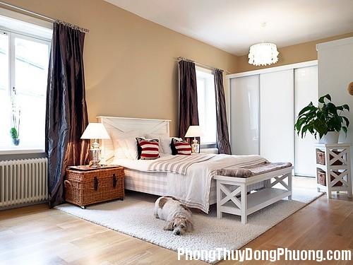 101 1 Cách bố trí giường ngủ thuận theo phong thủy