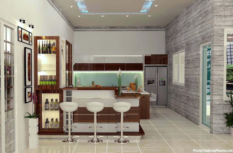 linh phong thuy phong bep nhung yeu to mau sac va vat lieu ban can biet 7b3373a3d6 Phong thủy phòng bếp: Những yếu tố về màu sắc và vật liệu bạn cần biết