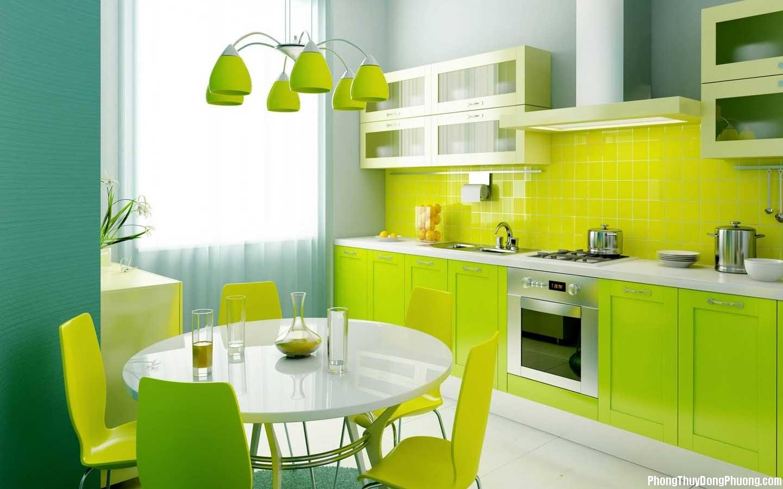 linh phong thuy phong bep nhung yeu to mau sac va vat lieu ban can biet c2ec63f731 Phong thủy phòng bếp: Những yếu tố về màu sắc và vật liệu bạn cần biết