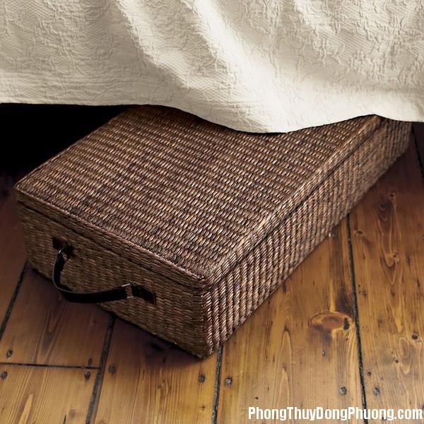 phong thuy gam giuong Nếu đặt thứ này dưới gầm giường thì sẽ gặp nhiều may mắn