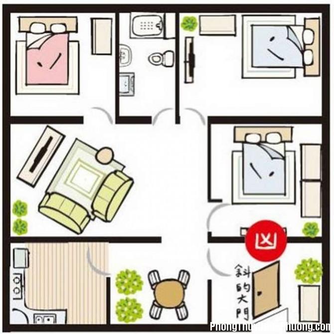 pt luu y thiet ke 2 Copy 1494994021 Những quy luật cần phải lưu ý khi thiết kế cửa chính để hút tài lộc vào nhà