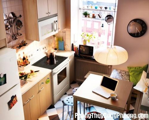 bep 4 Sắp xếp phòng bếp theo phong thủy để mang nhiều tài lộc về nhà