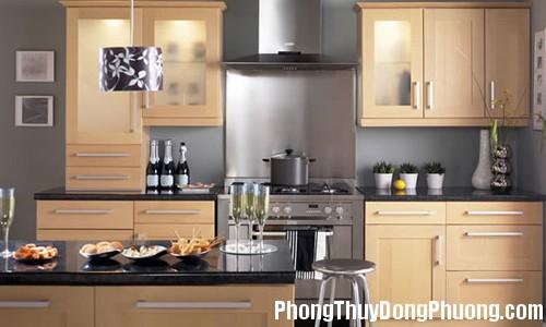 bep 5 Sắp xếp phòng bếp theo phong thủy để mang nhiều tài lộc về nhà