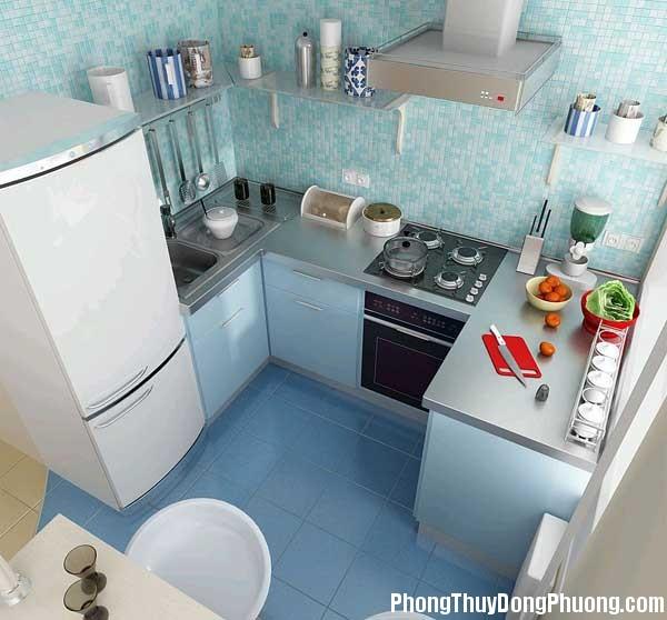bep dep phong thuy3 Cách sắp xếp các yếu tố đối lập trong phong thủy phòng bếp