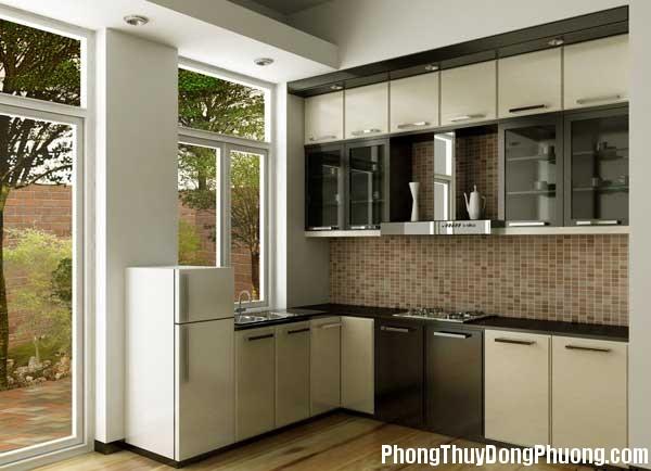 bep dep phong thuy4 Cách sắp xếp các yếu tố đối lập trong phong thủy phòng bếp