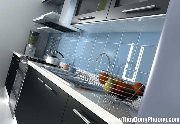 bep dep phong thuy5 Cách sắp xếp các yếu tố đối lập trong phong thủy phòng bếp