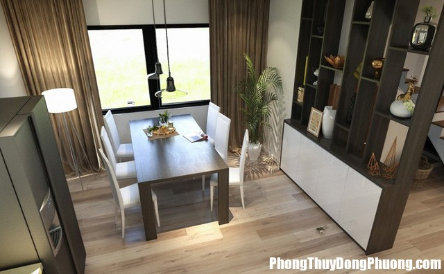 cach bo tri ban an chuan hop phong thuy de khoe manh hanh phuc 2 1493272664 width640height396 Cách bố trí bàn ăn chuẩn, hợp phong thủy để khỏe mạnh và hạnh phúc