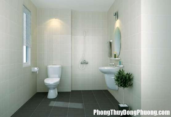 nha vs Cách bố trí nhà vệ sinh trong nhà ống hợp phong thủy