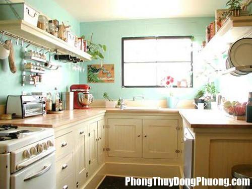 20130729101154256 1386217283 Bí quyết bài trí phong thủy cho phòng bếp chật