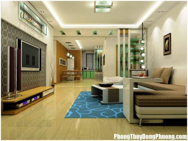 A55 thietkephongkhach Muốn được may mắn hãy bài trí phòng khách như thế này