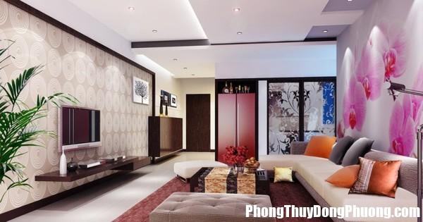 phon thuy phong khach 1538 phunutoday Trang trí phòng khách như thế này hỏi sao gia đình không bất hòa cho được