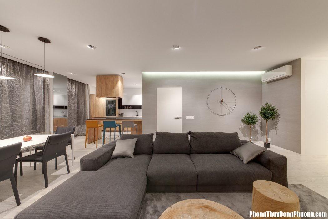 014 apartment minsk iproject 1050x700 Bố trí không gian đa năng trong nhà ở hợp phong thủy