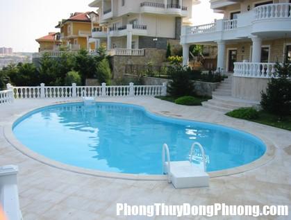 222 Phong thủy bể bơi hút vận may tiền tài vào nhà