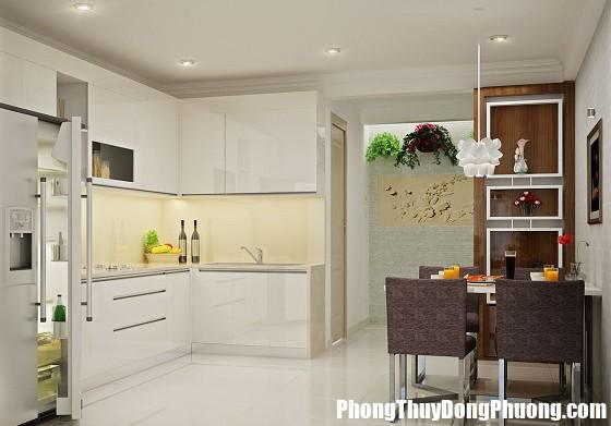 bo tri nha bep va nha ve sinh theo phong thuy Cấm kị nhà bếp và nhà vệ sinh đặt cạnh nhau