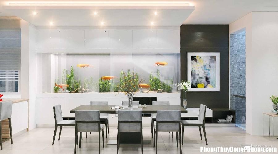 chuan muc nao cho can bep hien dai biet thu citadel residence quan 7 1490172417 Chọn cây xanh đem may mắn tài lộc cho phòng ăn