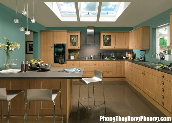 mau son phong thuy p 20160123092633739 Chọn màu sơn cho phòng bếp đem lại nhiều may mắn