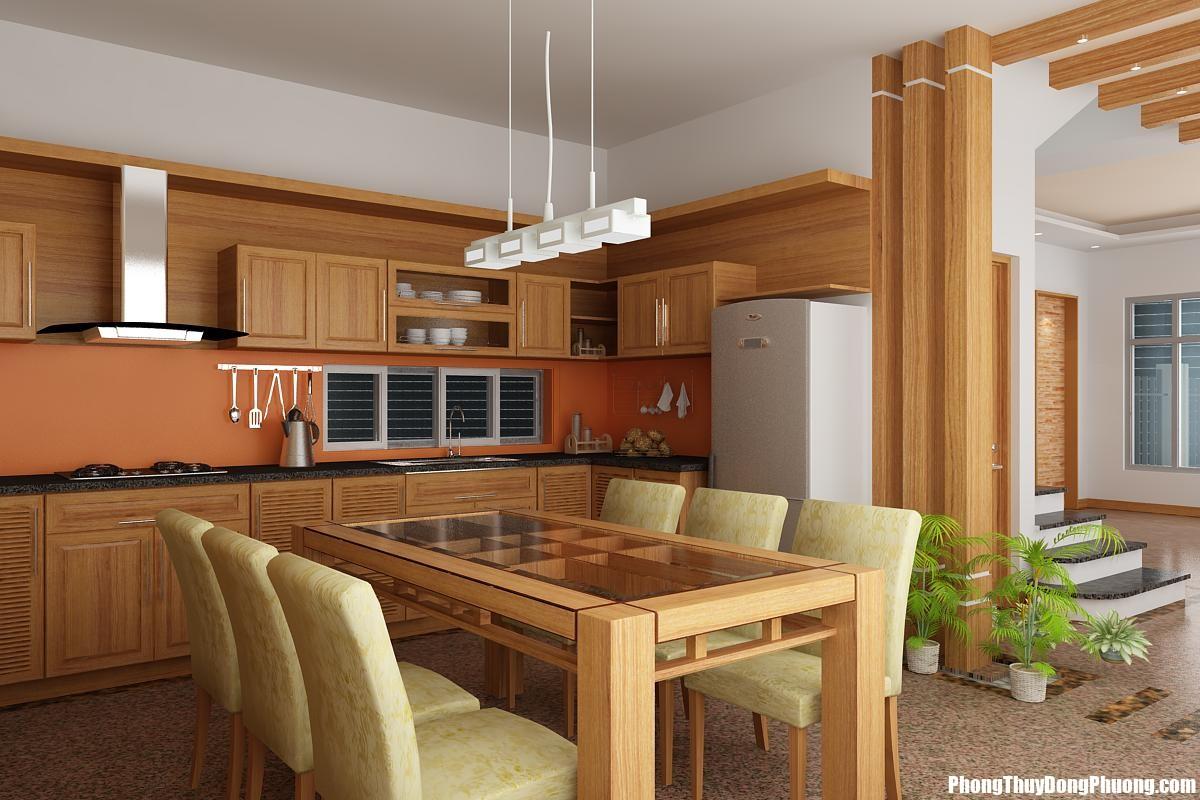 phong bep hop phong thuy tuoi 1960 Bố trí bếp ăn đem lại tài lộc lớn cho ngôi nhà