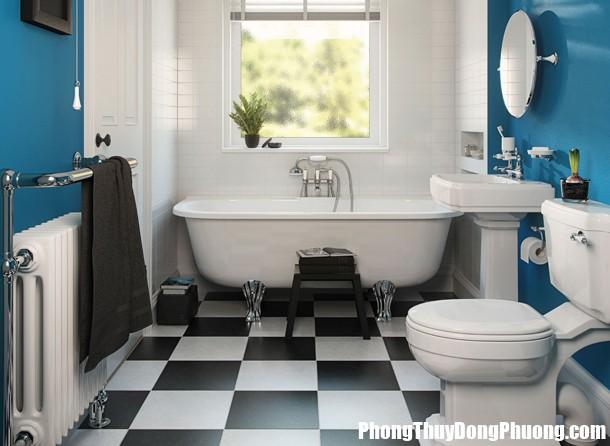 phong thuy phong tam em dep 2 103144474 Phòng tắm không đúng phong thủy cũng là nguyên nhân khiến bạn mãi nghèo